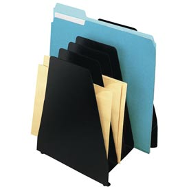 Mirage® 6 Pocket Slant File - Black