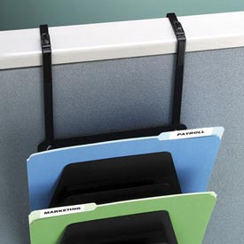 Mirage® 7 Pocket Wall Rack - Black