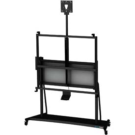 MasterVision Evolution Motorized IWB Mobile Stand W/Up & Down System, Stand Only