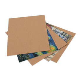 "Heavy Duty Chipboard Pad 8-1/2"" x 11"" - 750 Pack"