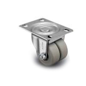 Shepherd® C00 Series Top Plate Caster C0020120ZN-POL01(KK)