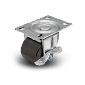 Shepherd® C00 Series Top Plate Caster C0020120ZN-HDR01(GG)B