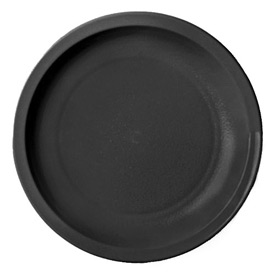 "Cambro 55CWNR110 - Plate Narrow Rim, 5 1/2"",  Black - Pkg Qty 48"