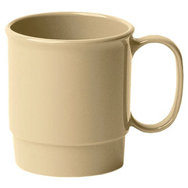 Cambro 75CW133 - Stacking Cup 7.5 Oz., Beige - Pkg Qty 48