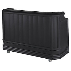 Cambro BAR730110 - Large Size, Bottle Service, Standard Decor, Black