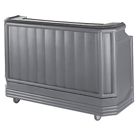 Cambro BAR730PMT191 - Large Size w/Post-mix system Bag-in-box Syrup, Water Tank, Granite Gray