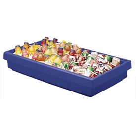 Cambro BUF72186 - Buffet Bar 24 x 67, Navy Blue