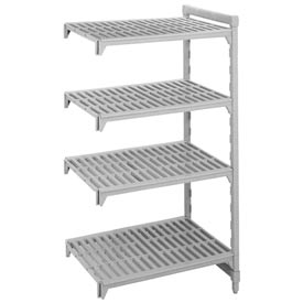 Camshelving® Add-On Unit - 4 Vented Shelves 24x36x72