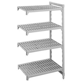 Camshelving® Add-On Unit - 4 Vented Shelves 18x54x64