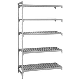 Camshelving® Add-On Unit - 5 Vented Shelves 21x36x64