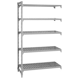 Camshelving® Add-On Unit - 5 Vented Shelves 24x36x72