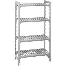 Camshelving® Stationary Starter - 4 Vented Shelves 18x54x64