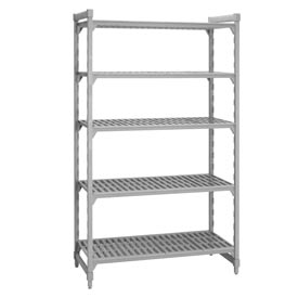 Camshelving® Stationary Starter - 5 Vented Shelves 21x36x64