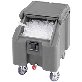 Cambro ICS100L191 - Ice Caddies, Granite Gray, 100 Lbs. Cap.