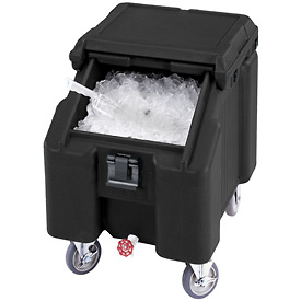 Cambro ICS100L4S110 - Ice Caddies, Black, 100 Lbs. Cap.