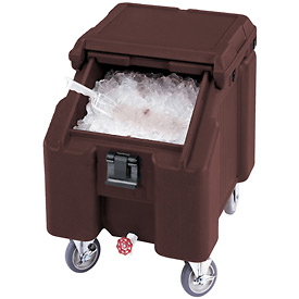 Cambro ICS100L4S131 - Ice Caddies, Dark Brown, 100 Lbs. Cap.