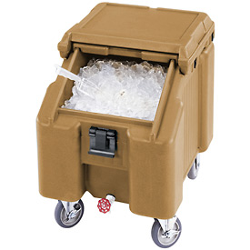 Cambro ICS100L4S157 - Ice Caddies, Beige, 100 Lbs. Cap.