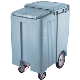 Cambro ICS200TB401 - Ice Caddies, Slate Blue, 200 Lbs. Cap., Tall