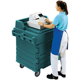 Cambro KWS40192 - Work Station, Granite Green