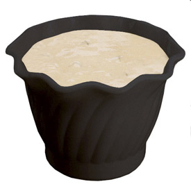 Cambro SRB5110 - Bowl Swirl 5 Oz.,  Black - Pkg Qty 24