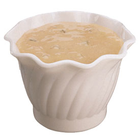 Cambro SRB5148 - Bowl Swirl 5 Oz.,  White - Pkg Qty 24