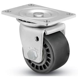"Shepherd® Business Machine Caster - Swivel with Brake 3"" Dia 900 Cap. Lbs. Phenolic"
