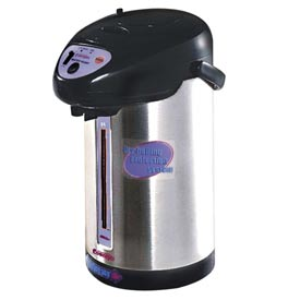 Classic Coffee Concepts BDM-3 - Hot Water Dispenser, 3-Liter, .8 Gal., Stainless Steel, Water Gauge