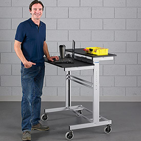 Relius Elite Stand-Up Mobile Workstation