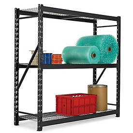 Atlantic Metal Bulk Rack With Welded Upright Frame