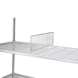 """Relius Solutions Shelf Divider For Square-Post Open-Wire Shelving - 18"""""""