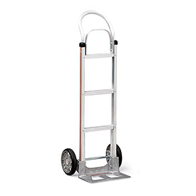 """Magliner Aluminum Hand Trucks - 17-1/4""""Wx48""""H - 14""""Wx7-1/2""""D Noseplate - With Frame Extension"""