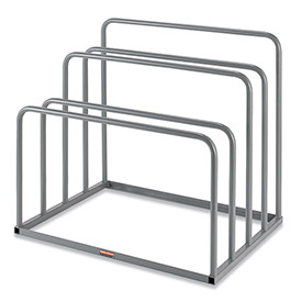 Relius Solutions Vertical Sheet Rack With Tiers - 48X36X43-1/2""