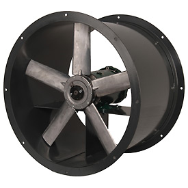 Continental Fan ADD24-1-3 Tube Axial Fan Direct Drive Three Phase 7000 CFM 1 HP