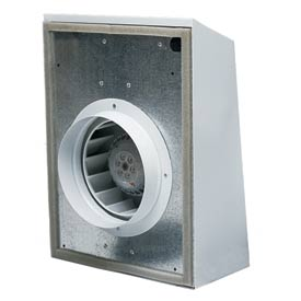 "Continental Fan EXT200B External Duct Fan Mount 8"" 420 CFM"