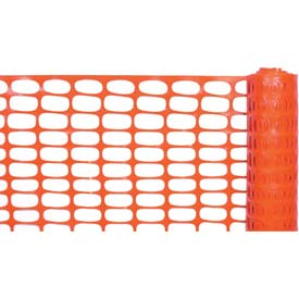 Lightweight Barrier Fence, Orange 4'W X 100'L