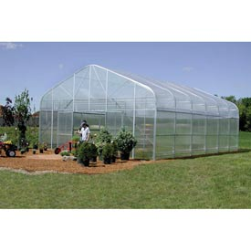 Majestic Greenhouse 20'W x 60'L w/Roll-up Sides