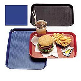 "Cambro 1014FF186 - Tray Fast Food 10"" x 14"",  Navy  Blue"