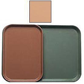 "Cambro 1015117 - Camtray 10"" x 15"" Rectangle,  Dark Peach - Pkg Qty 24"