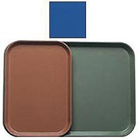 "Cambro 1015123 - Camtray 10"" x 15"" Rectangle,  Amazon Blue - Pkg Qty 24"