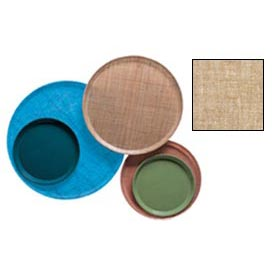 """Cambro 1200329 - Camtray 12"""" Round,  Linen Toffee"""