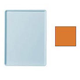 "Cambro 1216D222 - Tray Dietary 12"" x 16"", Orange Pizazz - Pkg Qty 12"