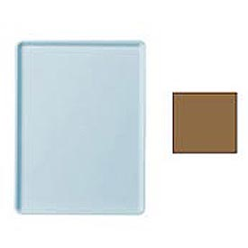 """Cambro 1216D508 - Tray Dietary 12"""" x 16"""", Suede Brown - Pkg Qty 12"""
