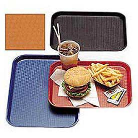"Cambro 1216FF166 - Tray Fast Food 12"" x 16"",  Orange - Pkg Qty 12"
