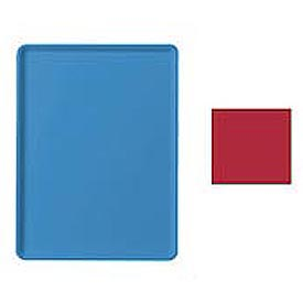 """Cambro 1219D521 - Tray Dietary 12"""" x 19"""", Cambro Red - Pkg Qty 12"""