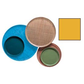 "Cambro 1300504 - Camtray 13"" Round,  Mustard - Pkg Qty 12"