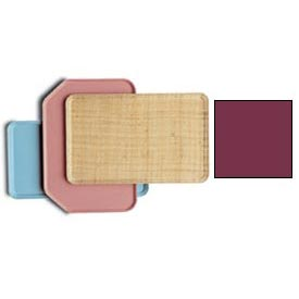 Cambro 1313522 - Camtray 33 x 33cm Metric, Burgundy Wine - Pkg Qty 12