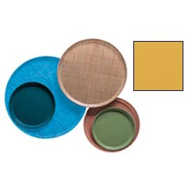 """Cambro 1400171 - Camtray 14"""" Round,  Tuscan Gold"""