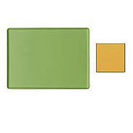 """Cambro 1418D171 - Tray Dietary 14"""" x 18"""", Tuscan Gold - Pkg Qty 12"""