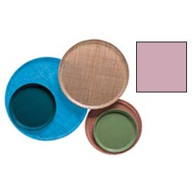 """Cambro 1550409 - Camtray 15.5"""" Round Low,  Blush"""