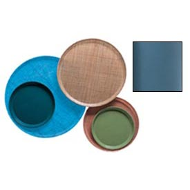 "Cambro 1550414 - Camtray 15.5"" Round Low,  Teal - Pkg Qty 12"